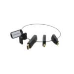 Kramer Electronics AD-RING-3 cable interface/gender adapter Black