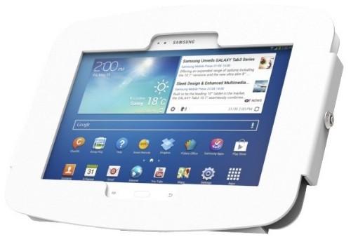 "Maclocks 910AGEW 10.1"" White tablet security enclosure"