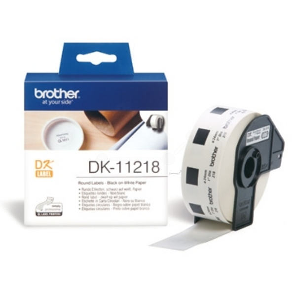 Brother DK-11218 P-Touch Etikettes, 24mm, 1000