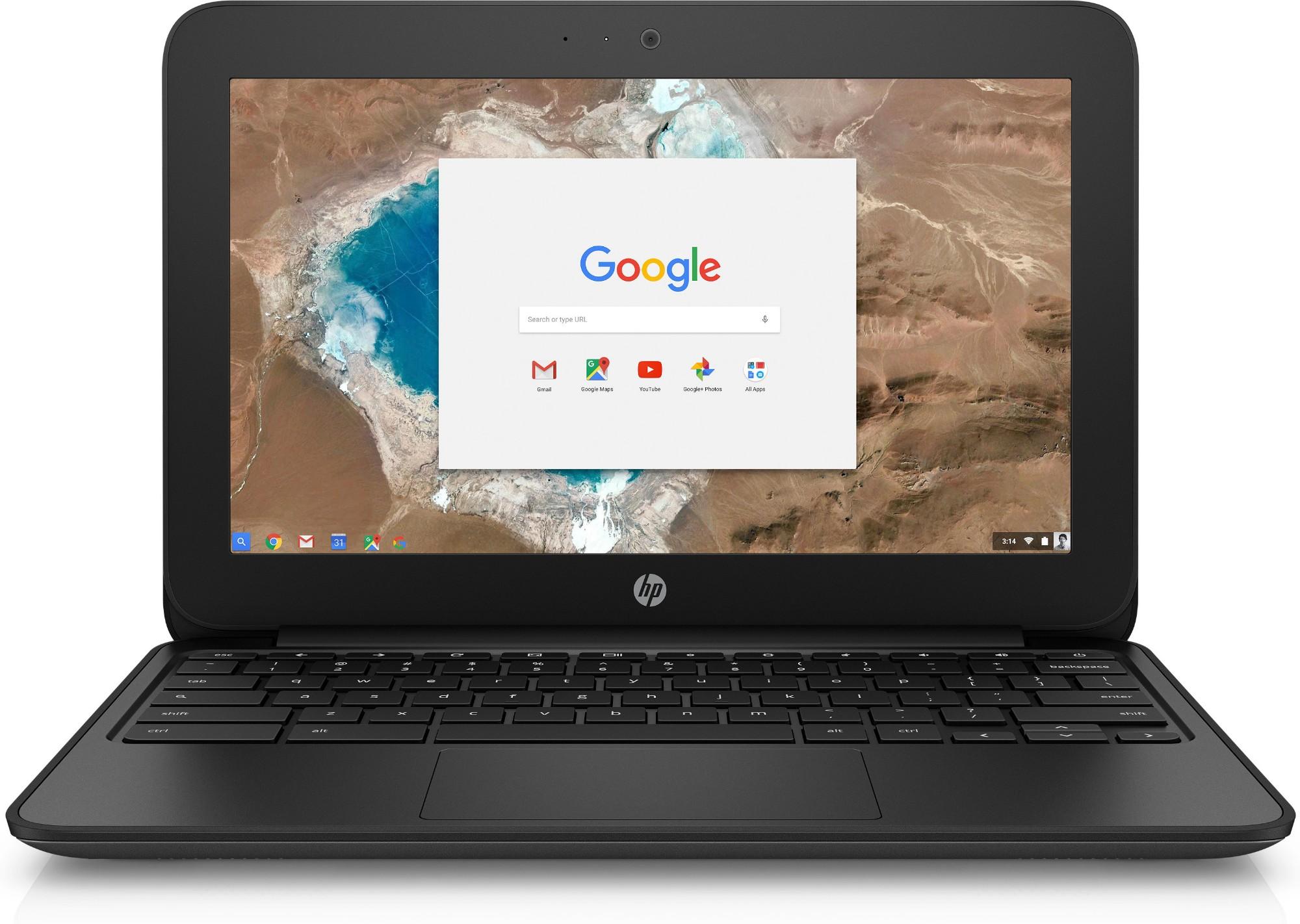 "HP Chromebook 11 G5 Silver 29.5 cm (11.6"") 1366 x 768 pixels Touchscreen Intel® Celeron® N3060 4 GB LPDDR3-SDRAM 32 GB eMMC Chrome OS"
