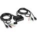 Trendnet TK-216I interruptor KVM Negro