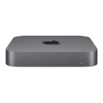Apple Mac mini 8th gen Intel® Core™ i7 16 GB DDR4-SDRAM 256 GB SSD Grey Mini PC