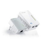 TP-LINK AV500 300Mbit/s Ethernet Wifi Blanco 2pieza(s) adaptador de red PowerLine dir