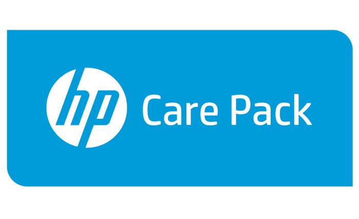 Hewlett Packard Enterprise 5y Nbd w/DMR P4000 2 Node FC U2PL7E
