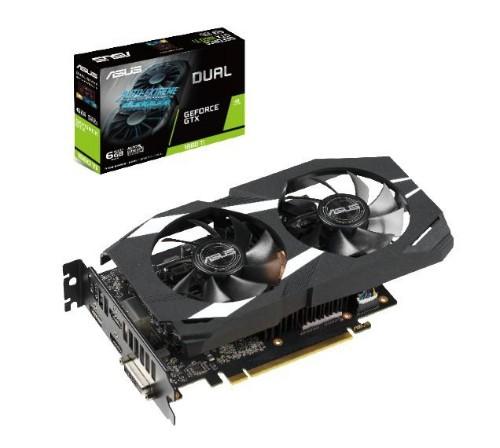 ASUS Dual -GTX1660TI-6G graphics card GeForce GTX 1660 Ti 6 GB GDDR6
