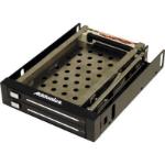 "Addonics AE25SNAP2SA storage drive enclosure 2.5"" Black"