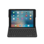 Logitech Create Smart Connector QWERTZ Zwitsers Zwart toetsenbord voor mobiel apparaat