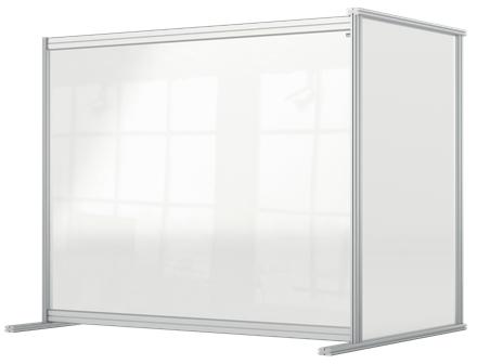 Nobo 1915496 magnetic board Grey, Transparent