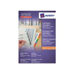 Avery Unpunched IndexMaker Dividers White divider