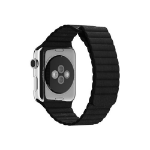 Apple 42MM BLACK LEATHER LOOP -