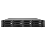 QNAP REXP-1220U-RP disk array 24 TB Rack (2U) Black