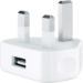 Apple 5W UK CHARGING PLUG MD812B/C USB