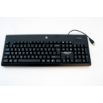 HP 674313-221 USB QWERTZ Czech Black keyboard