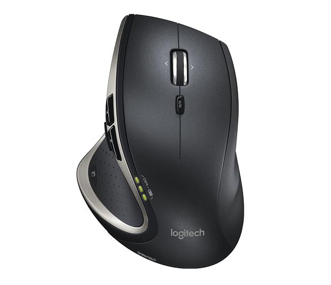 Logitech Performance Mouse MX RF Wireless Laser 1500DPI Right-hand Black,Silver mice