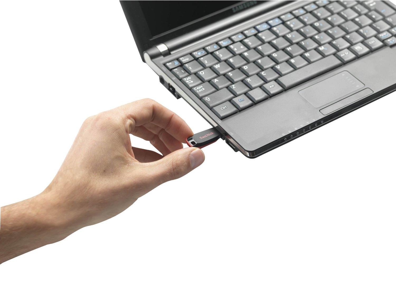 Sandisk Cruzer Blade 128GB 128GB USB 2.0 USB Type-A connector Black, Red USB flash drive. SKU : SDCZ50-128G-B35