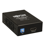Tripp Lite HDMI over Cat5/6 Active Extender, Box-Style Receiver for Video/Audio, 1080p @ 60 Hz w/ Intl. Power Supply, Up to 61 m (200-ft.)