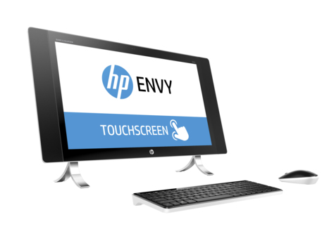 "HP ENVY 27-p075na 2.8GHz i7-6700T 27"" 2560 x 1440pixels Touchscreen Pearl,White"