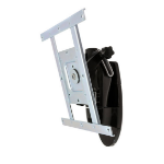 "Ergotron LX HD Wall Mount Pivot 106.7 cm (42"") Black"