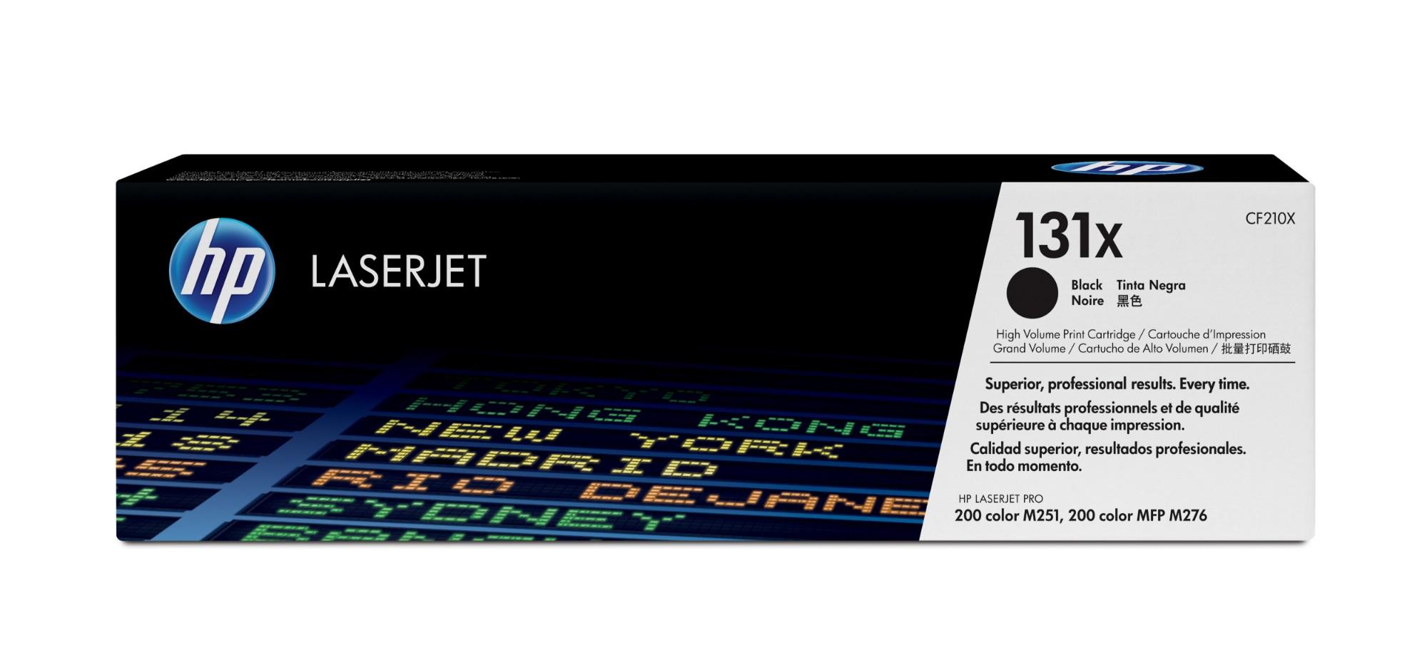 HP 131X Original Negro 1 pieza(s)