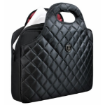 Port A Port product; this the FIRENZE 15.6 Black is a top loading ladies bag designed for up to 15.6 lapt