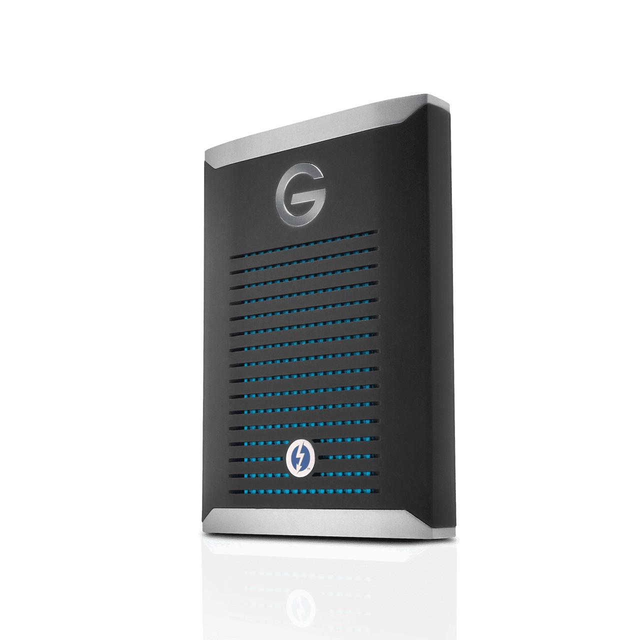 G-Technology G-DRIVE Mobile Pro SSD 500 GB Negro, Plata
