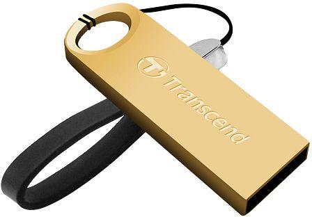 Transcend JetFlash 520 64GB USB 2.0 Gold USB flash drive