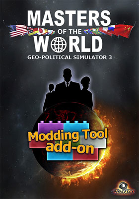 Nexway 789666 video game add-on/downloadable content (DLC) Video game downloadable content (DLC) PC Masters Of The World Geo Political Simulator 3 Español