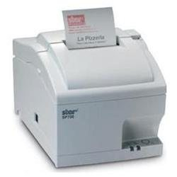 Hybrid Thermal / Matrix Printer Sp712md Uk White High Speed Clam-shell 9pin - Tear Bar Parallel