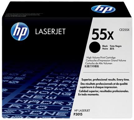 HP 2 x CE255X Original Negro 2 pieza(s)
