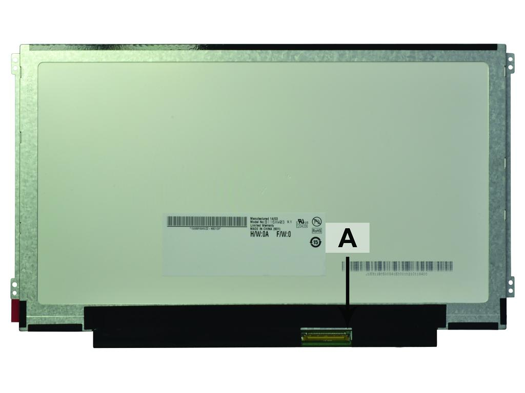 2-Power 11.6 WXGA HD 1366x768 LED Matte Screen - replaces 04W1596