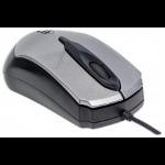 Manhattan Edge mice USB Optical 1000 DPI Black,Silver