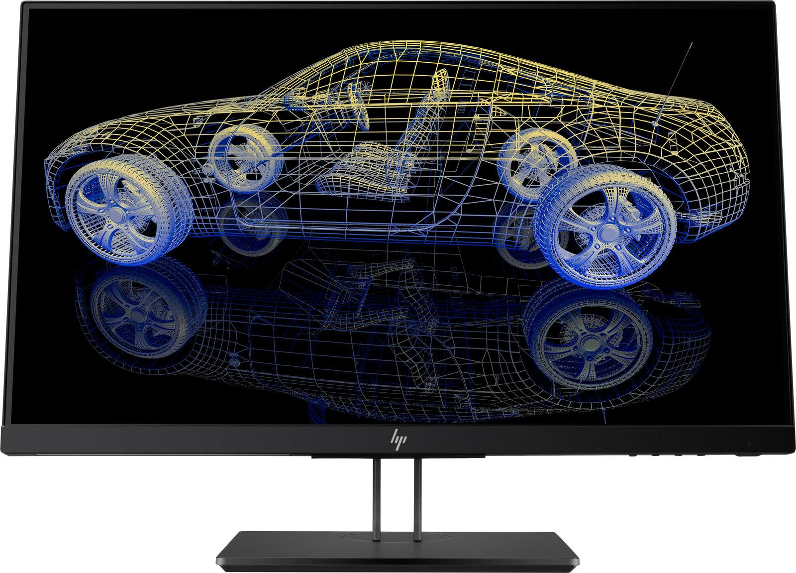 "HP Z23n G2 LED display 58.4 cm (23"") Full HD Flat Black"