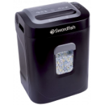Swordfish 1200XXCD Particle-cut shredding 50dB Black paper shredder