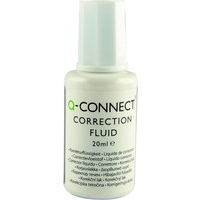 Q-Connect Correction Fluid 20ml Pk10