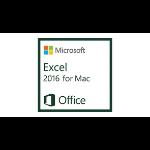Microsoft Excel 2016 for Mac, 1u