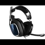ASTRO Gaming A40 TR Kopfhörer Kopfband Schwarz, Blau, Silber