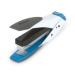 Rexel Easy Touch Low Force Half Strip Stapler White/Blue stapler