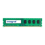 Integral 4GB PC RAM Module DDR3 1600MHZ LOW VOLTAGE UNBUFFERED DIMM EQV. TO CT51264BD160BJ FOR CRUCIAL memory module 1 x 4 GB