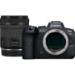Canon EOS R6 + RF 24-105mm F4-7.1 IS STM MILC 20,1 MP CMOS 5472 x 3648 Pixeles Negro