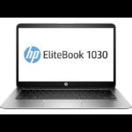 """HP EliteBook 1030 G1 1.2GHz m7-6Y75 13.3"""" 3200 x 1800Pixels Touchscreen Zilver Notebook"""
