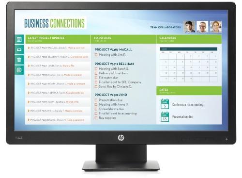 HP ProDisplay P223 computer monitor 54.6 cm (21.5