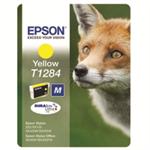 Epson Fox Singlepack Yellow T1284 DURABrite Ultra Ink