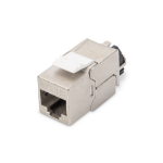 Digitus Cat. 6A keystone module, shielded with intelligent cable manager