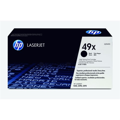 HP Toner Black 6000sheets for LJ1320 - Q5949X