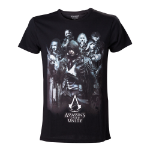 ASSASSIN'S CREED Unity Arno & Allies T-Shirt, Large, Black (TS178926ASC-L)