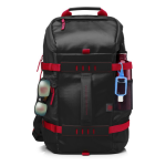 HP 15.6 in Odyssey Red/Black Backpack X0R83AA#ABB