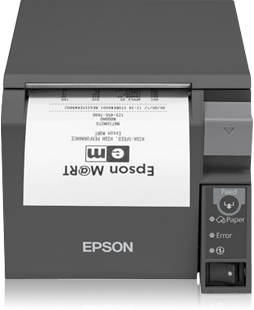 Tm-t70ii (032a0) - Receipt Printer - Thermal - 79.5mm - USB / Serial