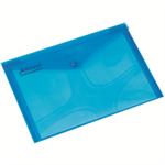Rexel Popper Wallet A4 Blue (5)