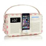 ViewQwest Retro Mk II radio Portable Digital Pink,White