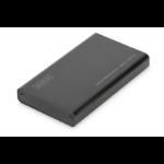 ASSMANN Electronic DA-71112 SSD enclosure Zwart opslagbehuizing